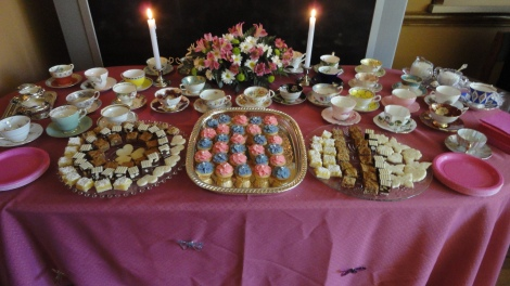 All the lovely squares and cupcakes!